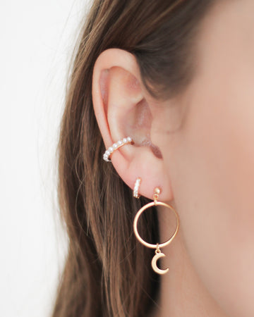 "Earcuff ""Grace"" I Gold"
