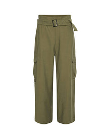 Hose MARGOT in Khaki Grün