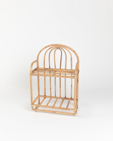 rattan regal bambus möbel trend 2020 kinderzimmer bücherregal boho