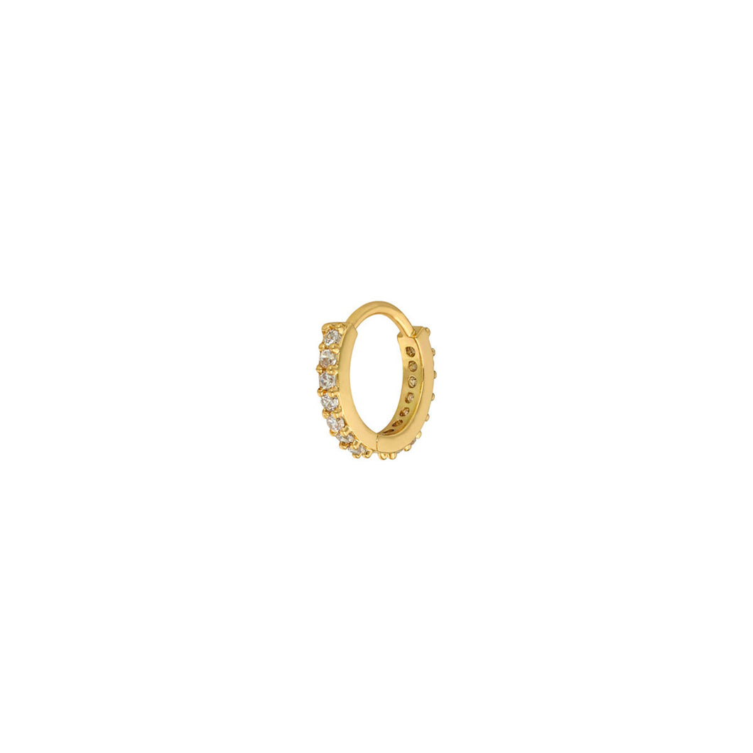 "Ohrring ""Shine Bright"" in Gold 