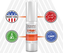 Load image into Gallery viewer, Whitening 3E Vitamin C Creamy Super Serum Anti Aging Intensive Treatment 1 fl oz/ 30 ml With Cutting Edge G3L Delivery System Brightens Skin, Evens Skin Tone, Great for Spots and Scars …