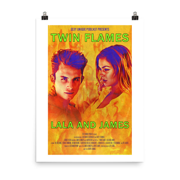 """Road to SUR: Twin Flames Lala & James"" Print"