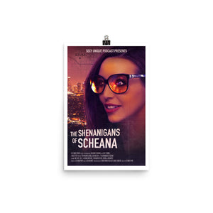 """Road to SUR: The Shenanigans of Scheana"" Print"