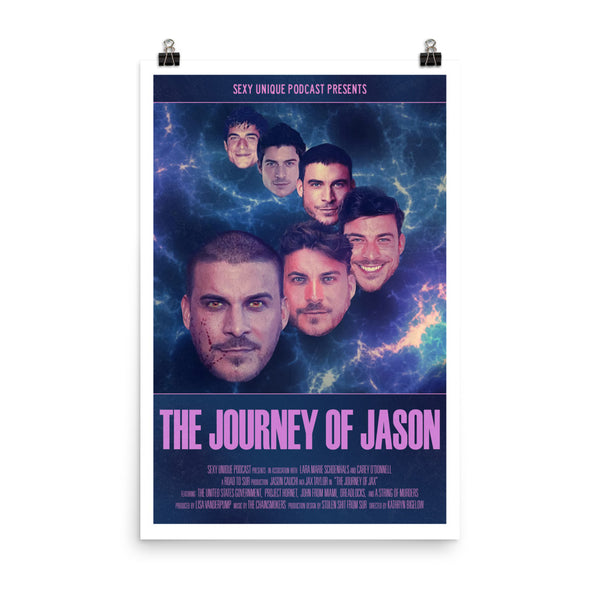 """Road to SUR: The Journey of Jason"" Art Print"