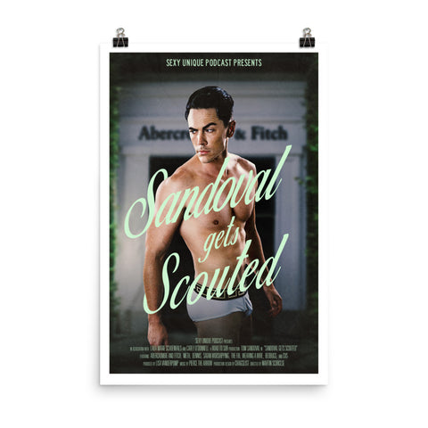 """Road to SUR: Sandoval Gets Scouted"" Print"