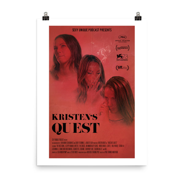 """Road to SUR: Kristen's Quest"" Print"