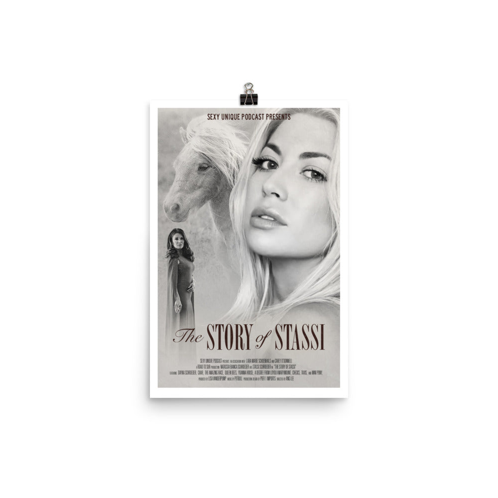 """Road to SUR: The Story of Stassi"" Print"