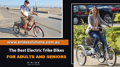 The Best Electric Trike Bikes For Adults And Seniors