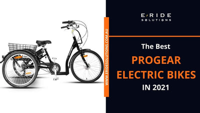 Top 8 Progear Electric Bikes to Look Out For in 2021