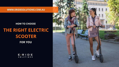 How to Choose the Right Electric Scooter for You