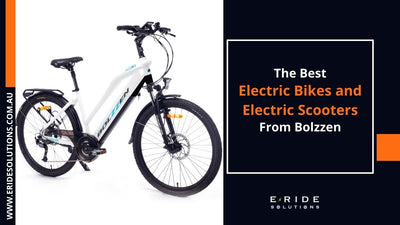 The Best Electric Bikes and Electric Scooters from Bolzzen