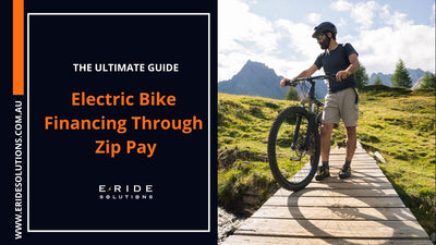 Electric Bike Financing Through Zip Pay