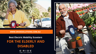 Best Electric Mobility Scooters for the Elderly and Disabled