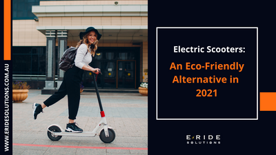 Electric Scooters: An Eco-Friendly Alternative In 2021