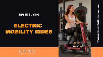 Top Ten Tips In Buying Electric Mobility Rides