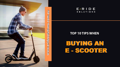 Top Ten Tips When Buying An E-Scooter