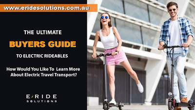 The Ultimate Buyer's Guide To Electric Rideables Australia