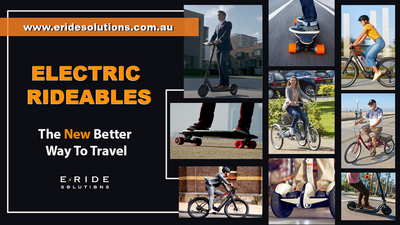 Electric Rideables: The New, Better Way To Travel