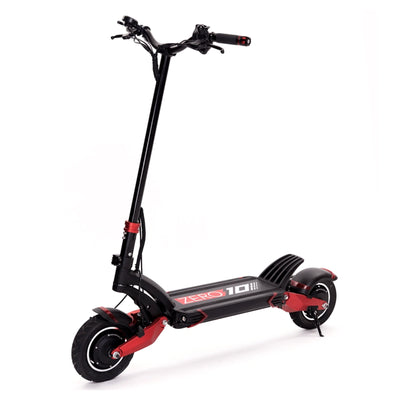 Zero 10X Electric Scooter (With Free Phone Holder)