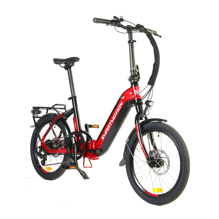 Smartmotion E20 Step Through Folding Electric Bike (With Free Phone Holder)