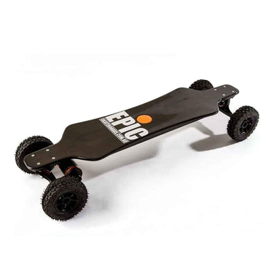Epic Racer 3200 Carbon Dual Pro Electric Skateboard (With Free Movement Alarm)
