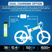 Ausstech Super Z Folding Electric Bike