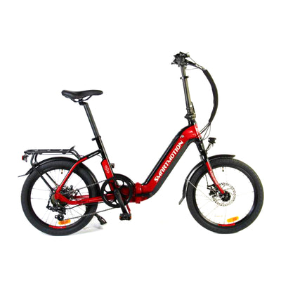 Smartmotion E20 Step Through Folding Electric Bike