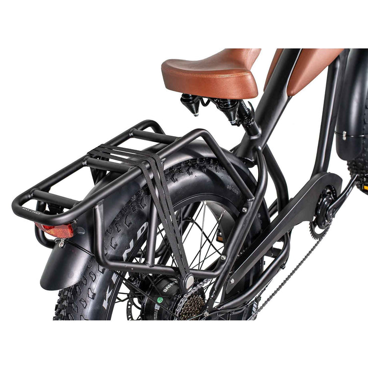 Ezriderz Electric Bike Rear Rack and Trail Light