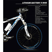 OTTO MX2000 Electric Mountain Bike (With Free Phone Holder)