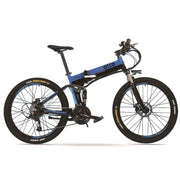 OTTO XT700 27 Speed Foldable Electric Mountain Bike  (With Free Phone Holder)