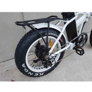 Overide Folding 7 Speed Electric Fat Bike