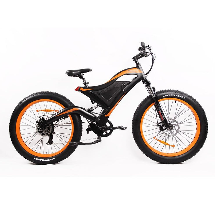 "E-Ozzie Twisted XL 26"" Electric Mountain Fat Bike"