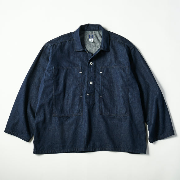 #1204 ARMY Shirt / 8oz denim indigo