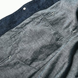 #3102 POST 42 5D / 5oz. Blue denim indigo
