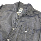 #1273 C-POST 9 / feather chambray / S, M, XL size