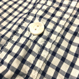 #1249 C-POST 6 S/S / plaid shirting / XS,L size