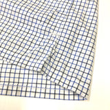 #1273S TOWN & COUNTRY S/S / tattersall shirting / M size