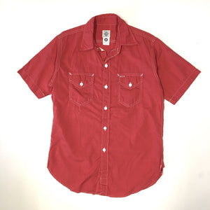 #1231 New Light Shirt  SS / End-On-End / S size