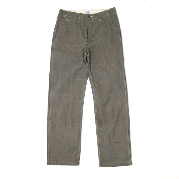 #1378 Double Needle Chino / cotton glenn plaid / S~XL size