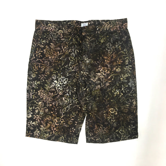 #1374L Lined MENPOLINI Short / Jungle Batik / S size