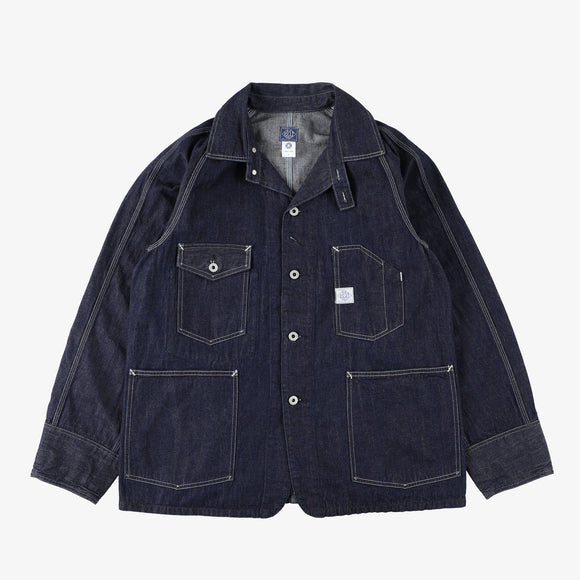 #1102 Engineers' jacket 10D / 10oz. Denim indigo