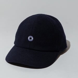 #3903 BASEBALL CAP WF1 / wool flannel navy
