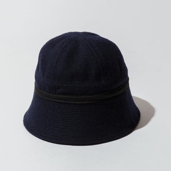 #3904 SAILOR HAT WF1 / wool flannel navy