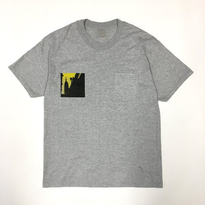 #NYT PTES2 Pocket T-Shirt Empire State Building 2 / heavy jersey / L size