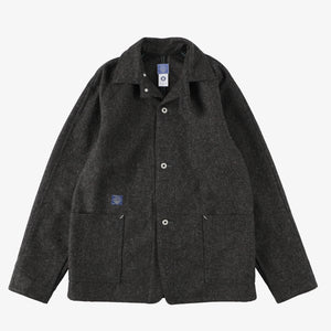 #2131R SB40-R / wool melton charcoal Shop Special