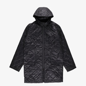 #2137 STREAMLINER Coat  QT1 / quilted nylon taffeta black