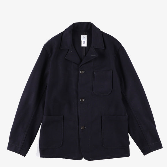 #2140 OK Rider WM1 / wool melton navy