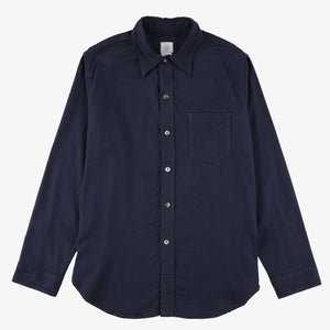 #2212R The POST III-R CT / cotton/tencel navy