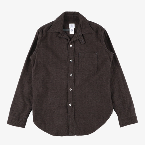 #2212R The POST III-R FM2 / flannel brown/black