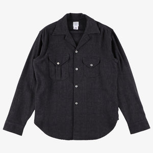 #2214 E-Z Cruz shirt SF1 / solid flannel grey